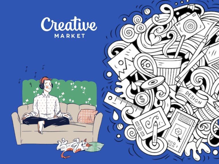 Creative Market Monday 1st