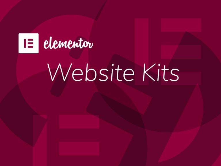 Elementor: Website Kits