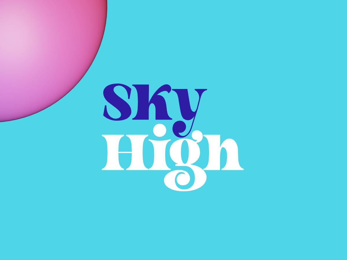 creative market high sky pink